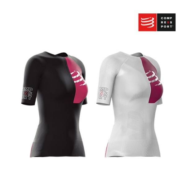 [컴프레스포트] TRIATHLON POSTURAL AERO SS TOP WOMAN