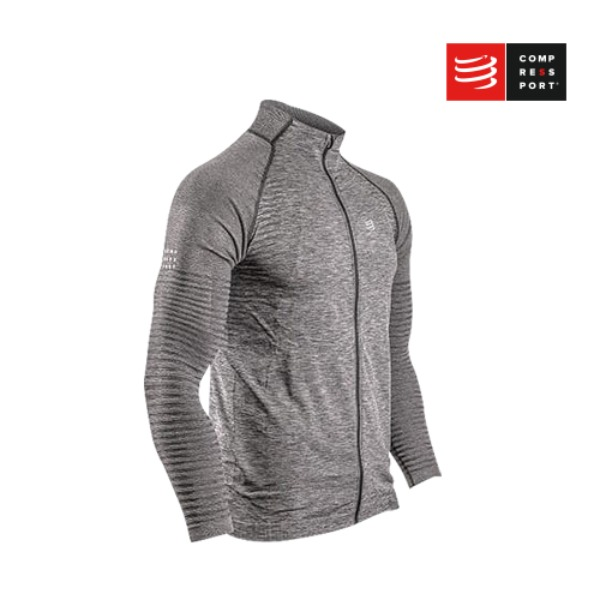[컴프레스포트] Seamless zip sweatshirt